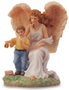 Fifth Year Boy Angel Figurine