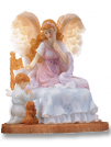 Heavenly Guardian / Boy Musical Figurine