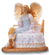 Heavenly Guardian Musical Angel Figurine