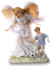 Seventh Year Boy Angel Figurine